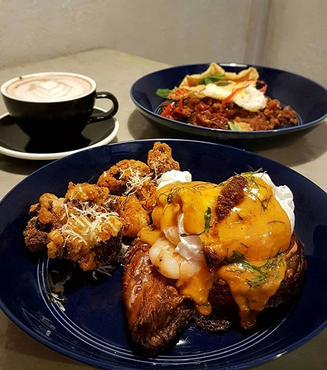 Say hello to the weekend with a scrumptious Asian fusion weekend brunch at Stateland Coffehouse!