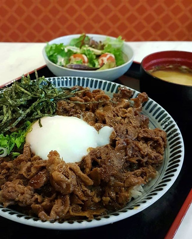 [PROMOTION] Get this Teriyaki Iberico Pork Don Set 🥘🥗🥣 at Gochi So-Shokudo's Seletar Mall outlet at only $8.90 nett (U.P.