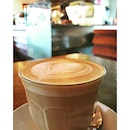 Shot of a great latte.