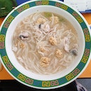 Comforting Bowl Of Fish Noodles Soup