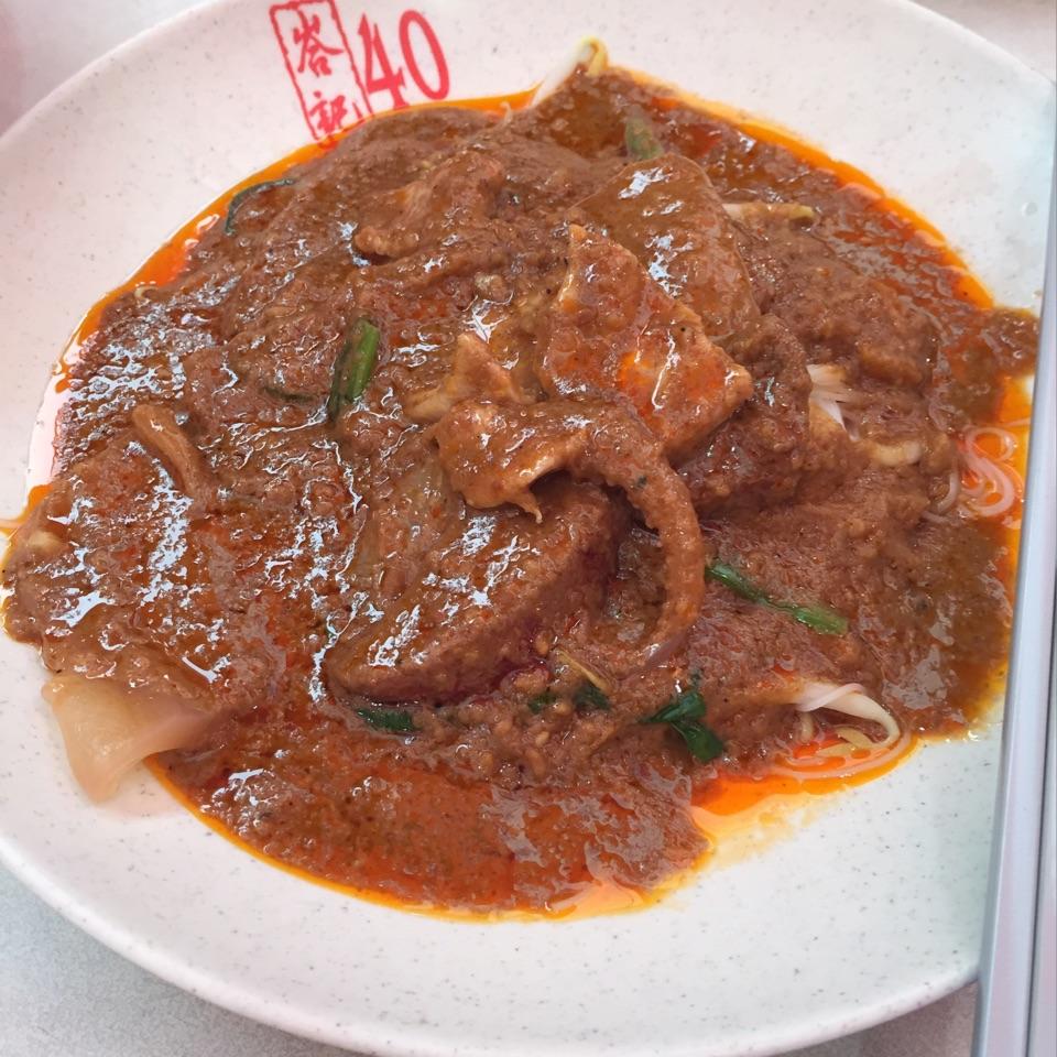 Satay Bee Hoon ($3)