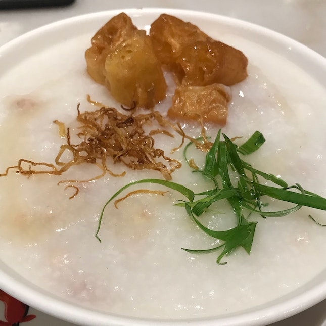 Congee With Minced Pork