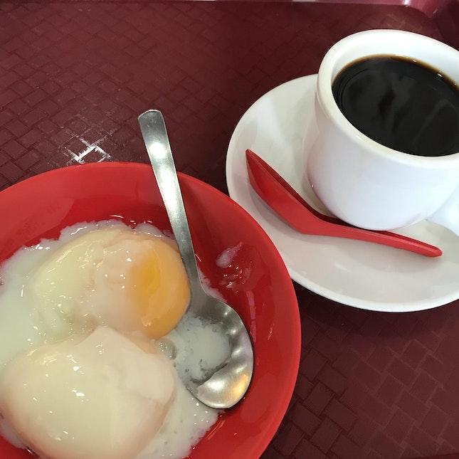 Fresh Eggs With Kopi