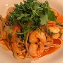 Prawn Linguine ($30.95 Full Size)