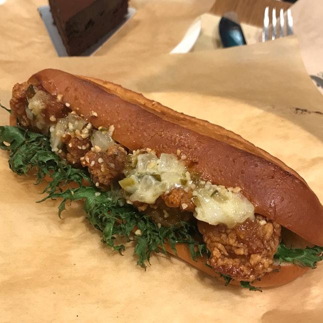 Soy Garlic Chicken Sandwich ($7)