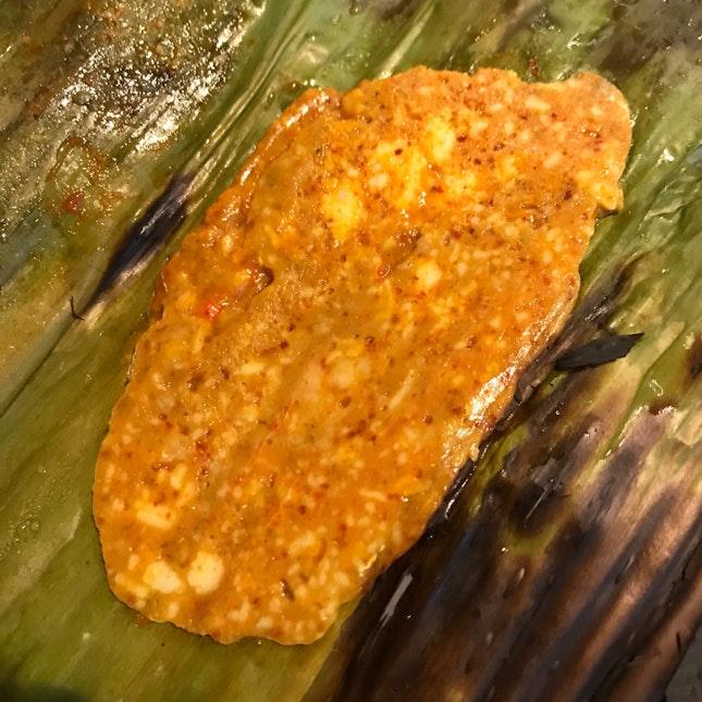 Banana Leaf Otah ($1.50)