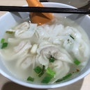 Kuay Teow With Fish Dumpling Soup