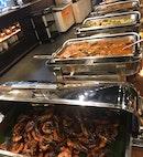 Wok Fried Prawns And Beef Rendang
