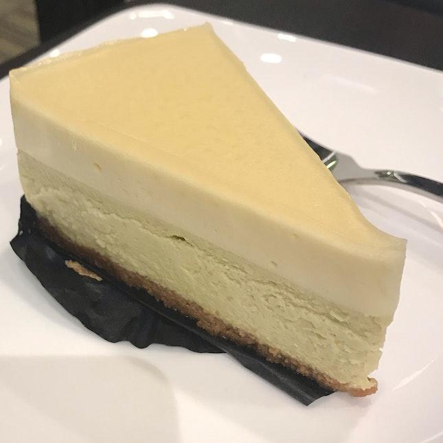 Yuzu Genmaicha Cheesecake ($6.90)