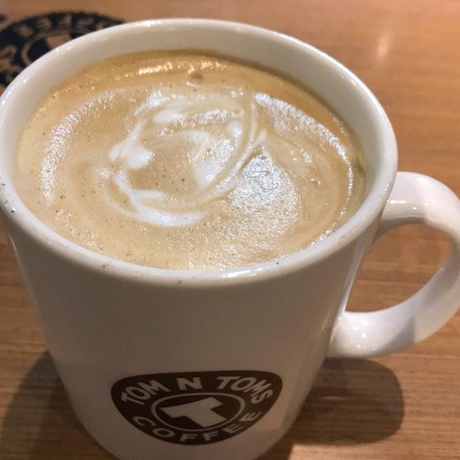 Hazelnut Latte G ($7.30)