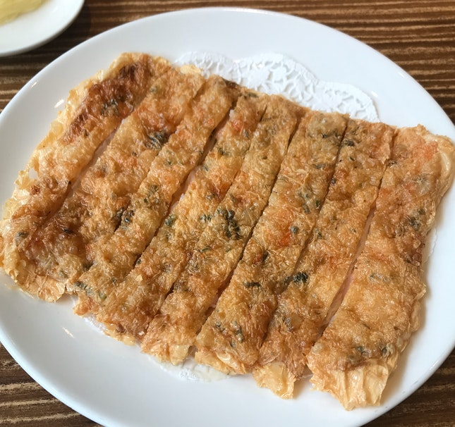 Fried Prawn Pancake