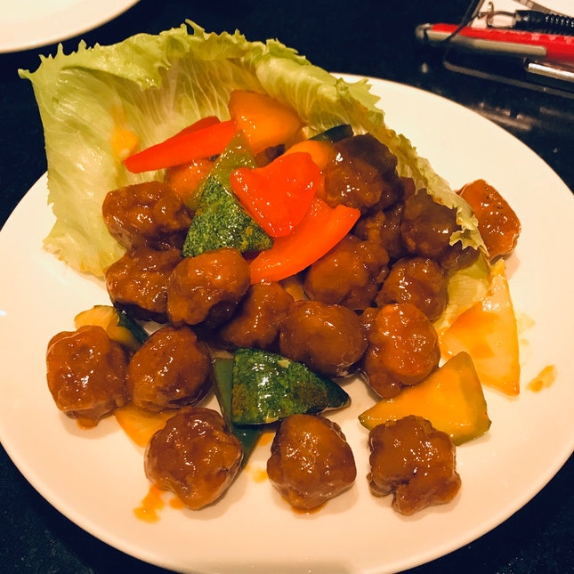 Sweet And Sour Pork ($18)
