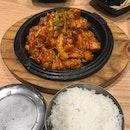 Spicy Dakgalbi