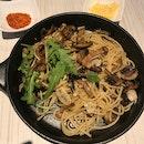 Mushroom Pasta ($20)