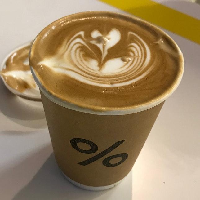 Caffe Latte Tall ($8)