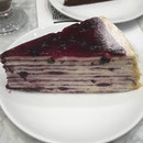 Blueberry Cheese Crepe ($11)
