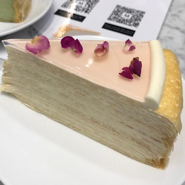 Rose Mille Crepe ($10)