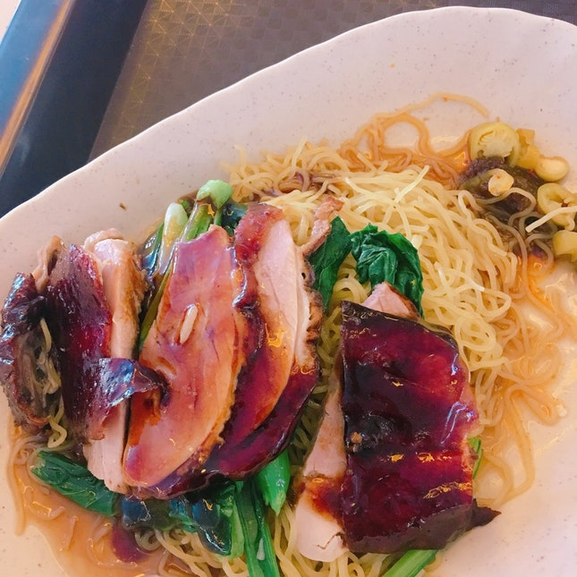 Tiong Bahru // Roasted Duck Noodles 🏆