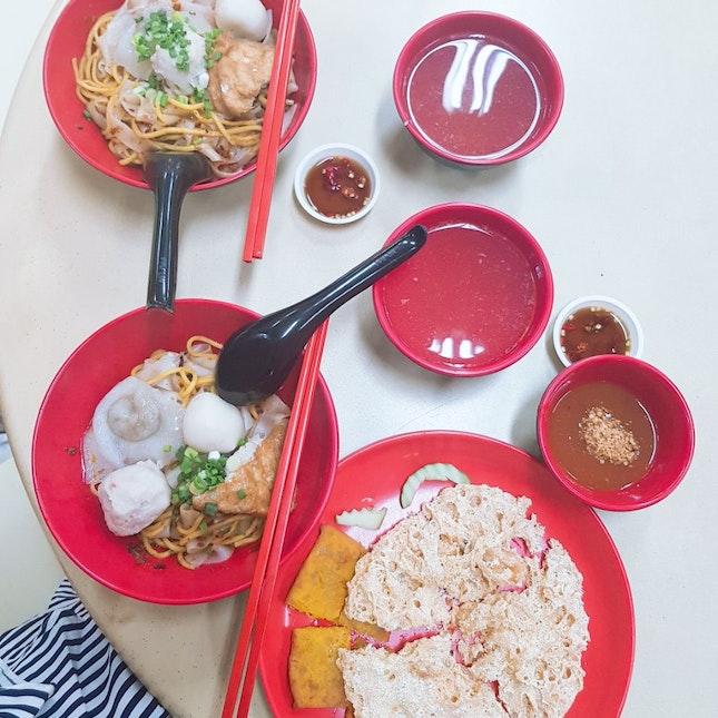 Serangoon // Fishball Noodles Supper