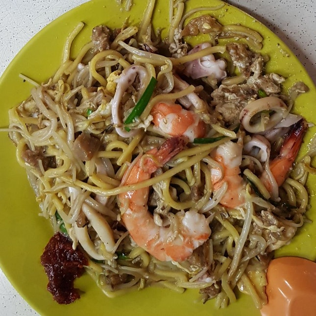 Hokkien Mee With The Strongest Wok Hei