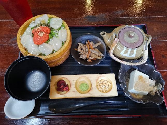 Dashi-zuke Lunch Set