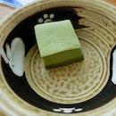 i kinda like this - their specialty maccha tofu