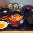 Absolutely satisfied with Man Man's unagi that was tender soft and freshly grilled to a caramelised char.