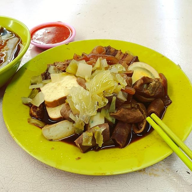 Dinner/Supper of this super shioks kway chap.