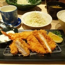 Consistently good quality tonkatsu, homely miso soup and crisp chilled cabbage which I always asked for extra servings.