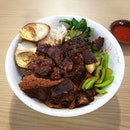 家常卤肉饭's #meltinthemouth braised pork was #fatdieme delicious.