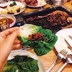 [Daessiksin 大食神] 7/10  Best to reach this kbbq joint early — we were there at 5.10pm and it was filled by 6pm sharp!