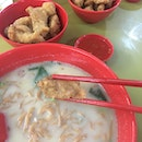 Fried Fish Noodle Soup
