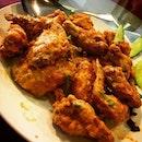 #saltedegg #chickenwings at The Work Restaurant.