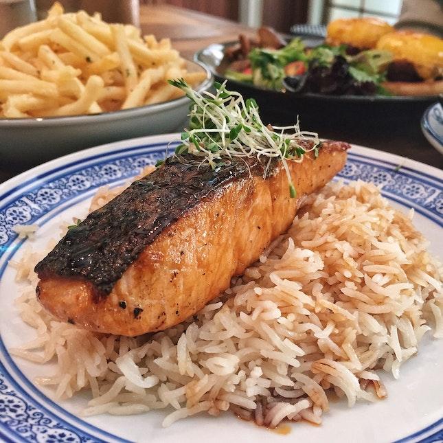 Yakitori Salmon 🐟 ($24)