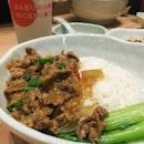Set A - Sichuan Mala Beef Tender Rice (&12.80)