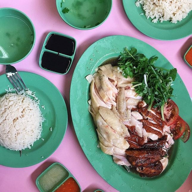 Hainanese Boneless Chicken Rice ($18/Whole Chicken)