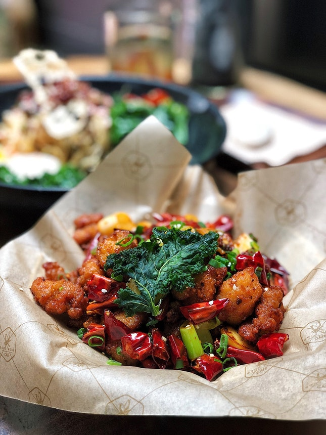 Find The Chicken In The Chillies ($16)