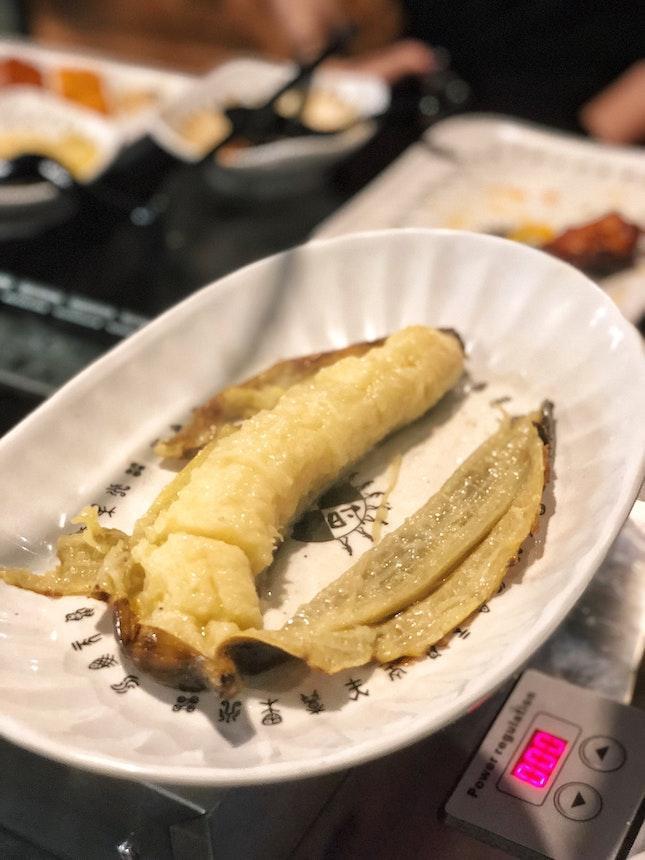 Grilled Banana 🍌 ($1.50)