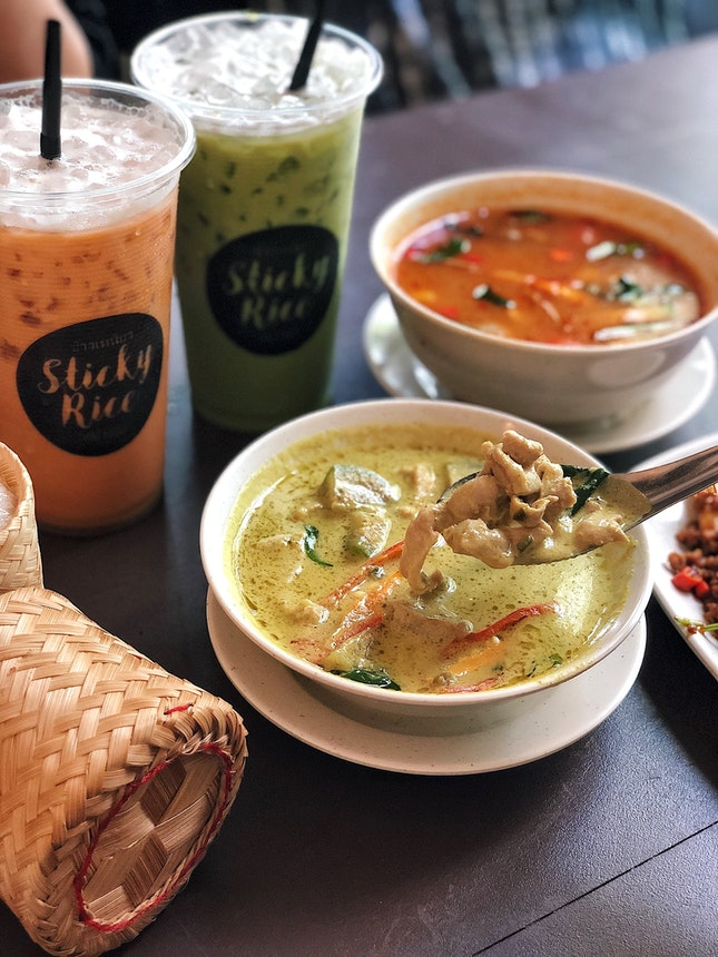 Green Curry ($7.50)