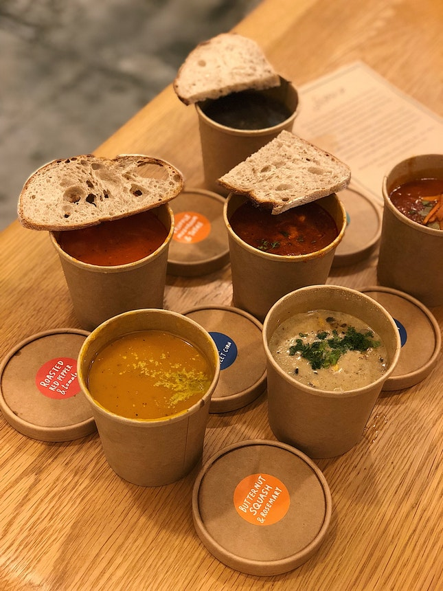 Wide Variety Of Comforting Soups ($7-$8.50)