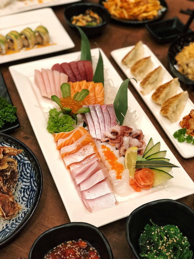 Omizu Japanese Buffet ($49.90/pax)