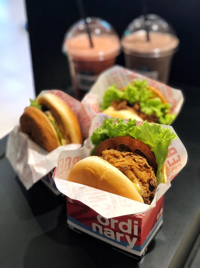 Buttermilk Fried Chicken Burger ($5.90)