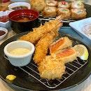 Assorted Seafood Katsu Set ($20.90)