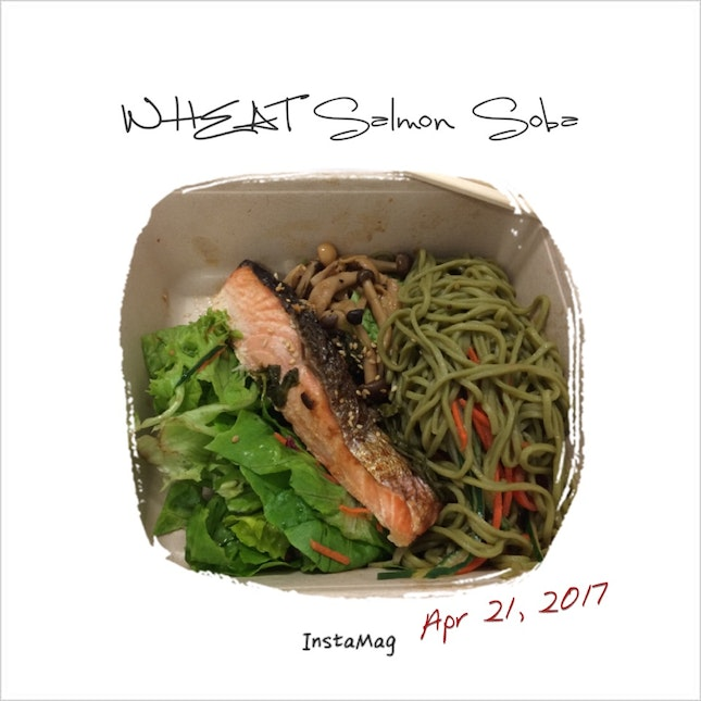 Wheat Salmon Soba