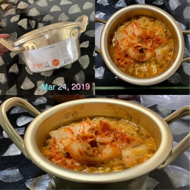 Kimchi Ramen 😋