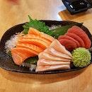 Love eating sashimi!