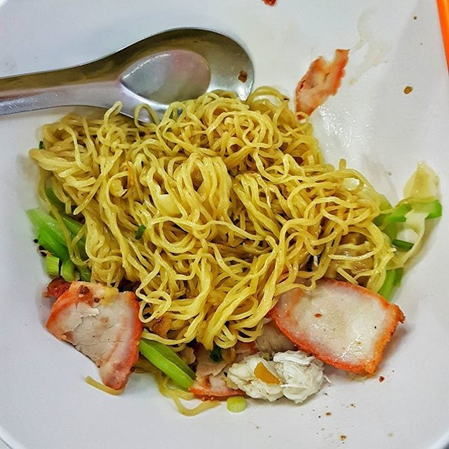 The Ba Mee in Bangkok that seems to be favoured by most Singaporeans.