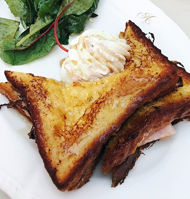 French toast for breakfast or just a snack?