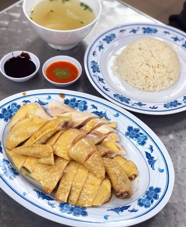 They have been around for a long time, popular for their Kampong chicken.