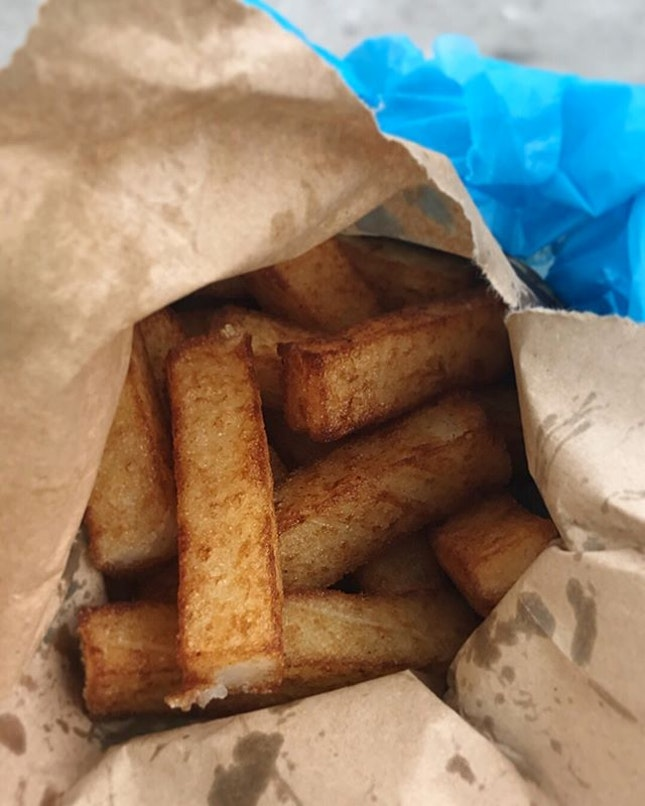 Other than the fast food French fries, have you tried our very own local carrot cake fries?